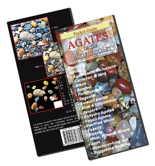 AGATES OF THE PACIFIC COAST by K.T. Myers and Petrovic  - ISBN13: 9781450757362 - HOT OFF THE PRESS - March 2011!